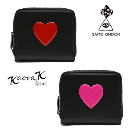 Heart Plain Leather Accessories