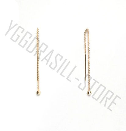 Casual Style Street Style Handmade Earrings & Piercings