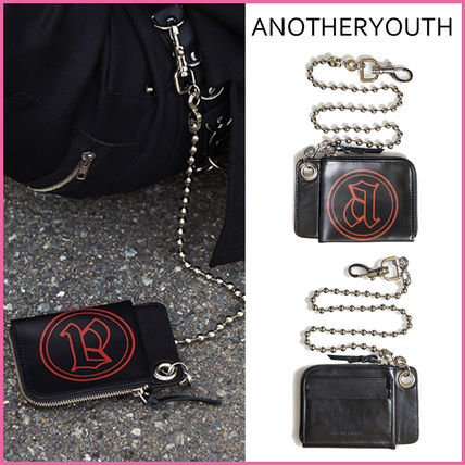 Chain Leather Coin Purses