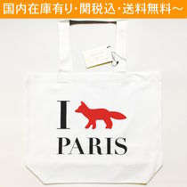 MAISON KITSUNE And Maison Kitsune I Fox Paris tote bag