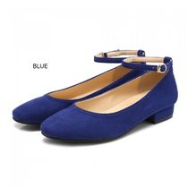 JUST JINNY Argile Platform Round Toe Casual Style Suede Street Style