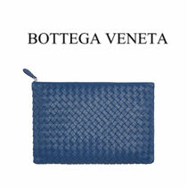 BOTTEGA VENETA Lambskin Plain Clutches
