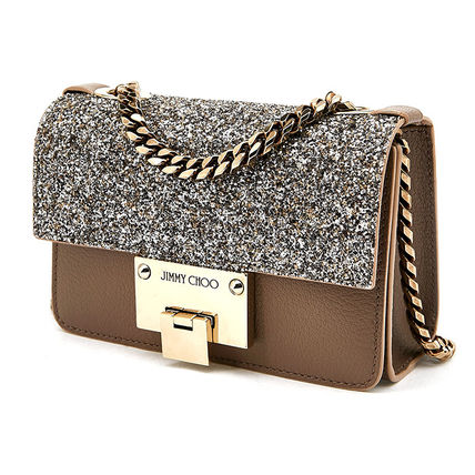 Jimmy Choo REBEL SOFT MINI PKA LIGHT MOCHA