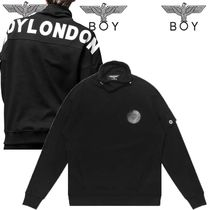 BOY LONDON Studded Long Sleeves Cotton Medium Shawls
