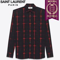 00baf994f8 Saint Laurent Men s Shirts  Shop Online in US