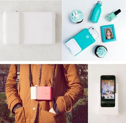 Share immediately, take a PRYNT iPHONE case photo printer