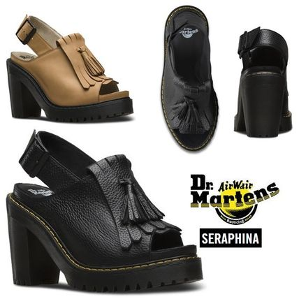 Dr. Martens SERAPHINA with Tassel thick heel sandals