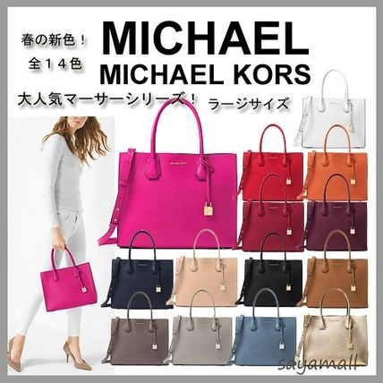 Mercer large leather tote 2WAY
