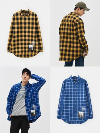 Eight seconds × collaboration check shirt