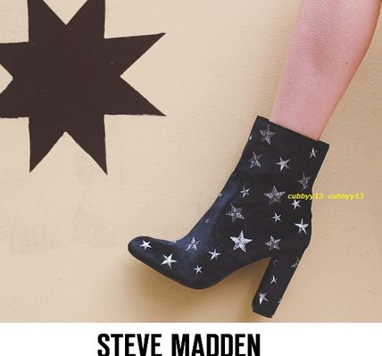 Cute Star Steve Madden Edit-S ankle boots