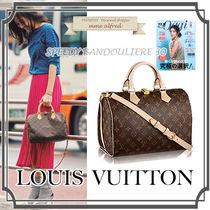 Louis Vuitton SPEEDY Monoglam 2WAY Bags