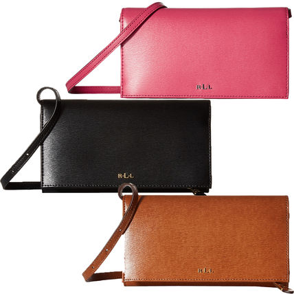 Plain Leather Long Wallets