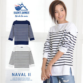 Short Stripes Boat Neck Long Sleeves Cotton Cropped