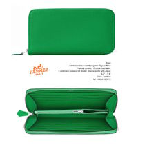 HERMES Leather Long Wallets