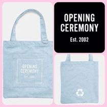 OPENING CEREMONY Casual Style Cambus Street Style Plain Totes