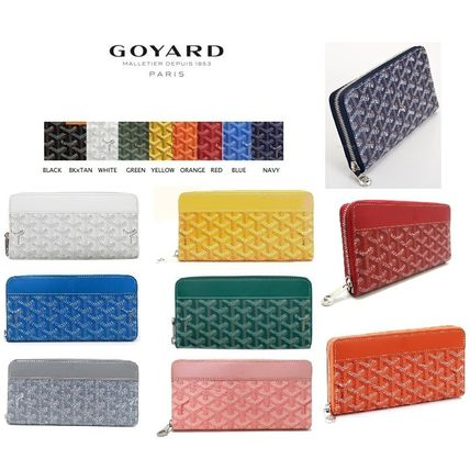 Peace of mind express flight GOYARD classic round zip long