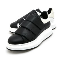 alexander mcqueen Plain Toe Plain Leather Sneakers