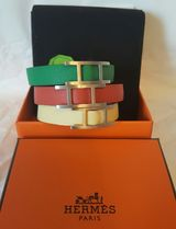 HERMES petit h Leather Bracelets