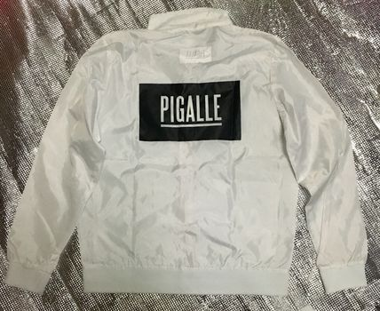 popular PIGALLE box logo Nylon jacket