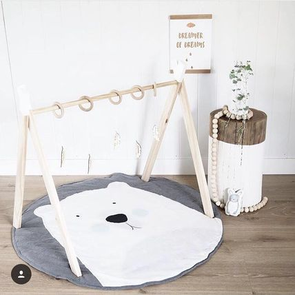 AU from Mister Fly fashion bear play mat cotton 100%
