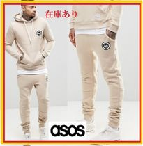 ASOS Street Style Plain Cotton Joggers & Sweatpants