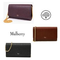 Mulberry Continental 2WAY Plain Leather Shoulder Bags