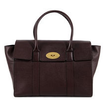 Mulberry Bayswater Plain Leather Totes
