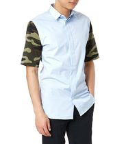 DIOR HOMME Camouflage Shirts