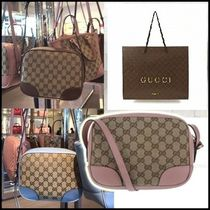 GUCCI Casual Style Crossbody Shoulder Bags