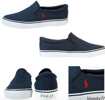 POLO RALPH LAUREN Casual Style Slip-On Shoes