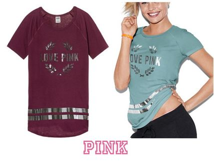 890b987b4 ... Victoria s secret T-Shirts Street Style Collaboration Short Sleeves T- Shirts ...