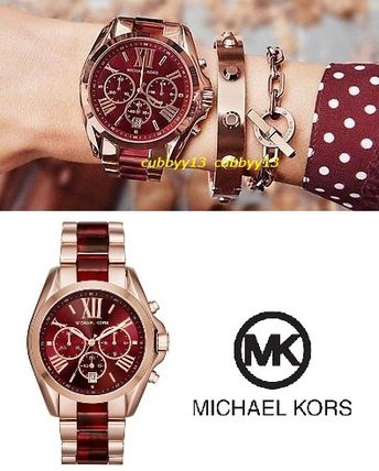 Wine color watches watch MK6270