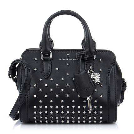17SS Stud MINI PADLOCK 2 WAY tote