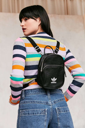 ... adidas Backpacks Casual Style Faux Fur Street Style 2WAY Plain Backpacks  5 ... 7bb2d24694786