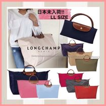 Longchamp Nylon Plain Boston & Duffles