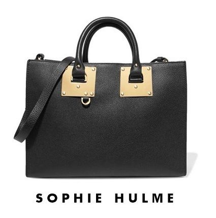 popular ♦ SOPHIE HULME ♦ Albion leather tote bag
