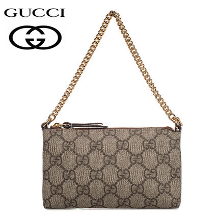 GUCCI Cambus Chain Party Style Luxury Brand Bag Clutches