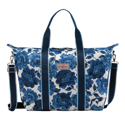 Cath Kidston over night bag Peony Blossom blue