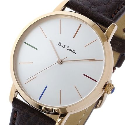 Watch Men ' s MA gold brown leather P10101