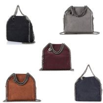 Stella McCartney FALABELLA Plain Shoulder Bags