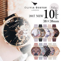 Olivia Burton Leather Quartz Watches Analog Watches
