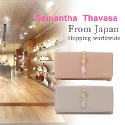 Samantha Thavasa motif Belt pouch series long wallet