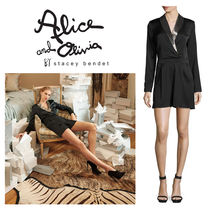 Alice+Olivia Short Long Sleeves Jumpsuits & Rompers