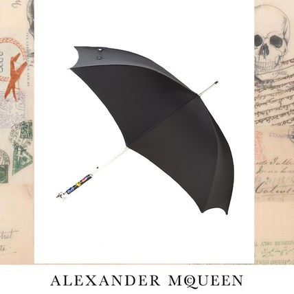 2017 Spring-Summer Mcqueen McQueen Skull Umbrella black
