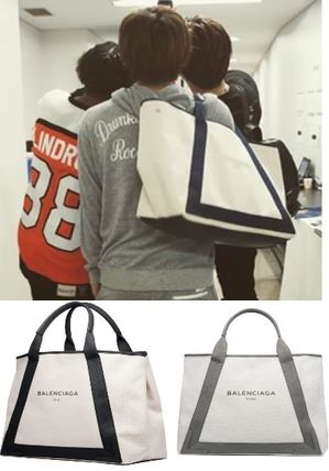 Third generation J Soul Brothers canvas tote M