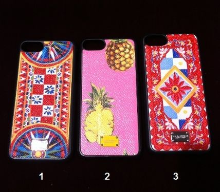 17SSMambo Collection Dolce & Gabbana Leather iPhone 7 Case