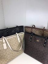 Coach Casual Style A4 Totes