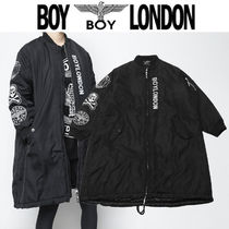 BOY LONDON Skull Street Style Other Animal Patterns Long MA-1