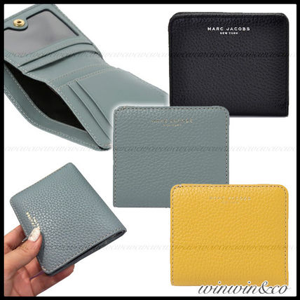 Plain Leather Folding Wallets