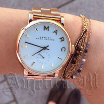 Marc by Marc Jacobs Casual Style Metal Round Quartz Watches Analog Watches
